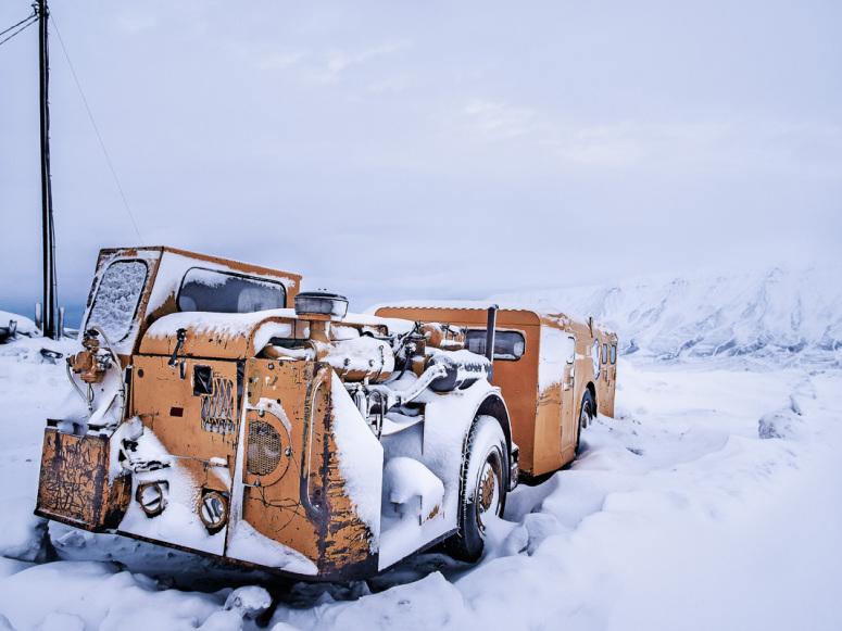 Gruvebil Svalbard
