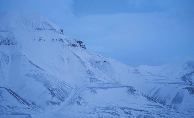 Svalbard blåtimen