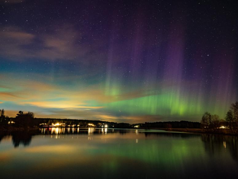 Nordlys i Østfold